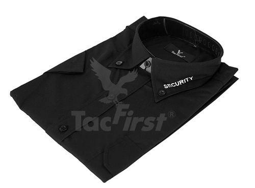 TacFirst Security Hemd langarm Kragenstick Gr. M