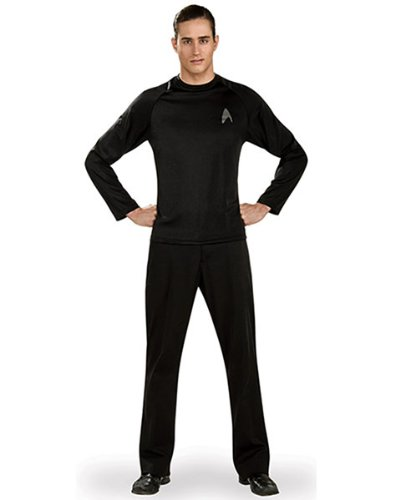 Rubies Costume – Star Trek Uniform Schwarz – Hemd – X-Large