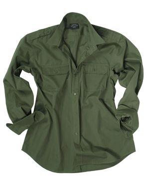 Mil-Tec Feldhemd Tactical Oliv size L