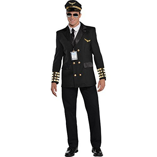 Pilot Kostüm Herren Gr. L