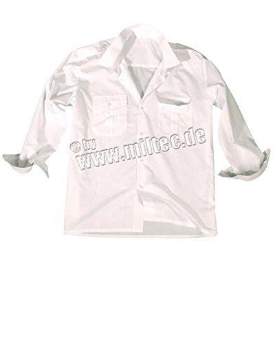 Diensthemd 1/1 Arm weiß L