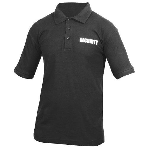 Viper Security Polo Hemd Schwarz Größe XL