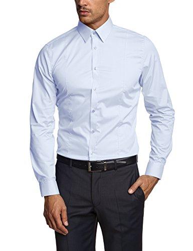 Venti Herren  Business Hemd 001470, Gr. Kragenweite: 42, Blau (blau 108)