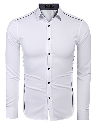 COOFANDY Herren Slim Fit Business Hemd