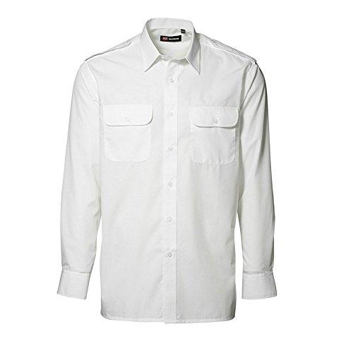 ID Herren Classic Uniform-Hemd, langärmlig